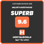 Recommended by Hostelworld